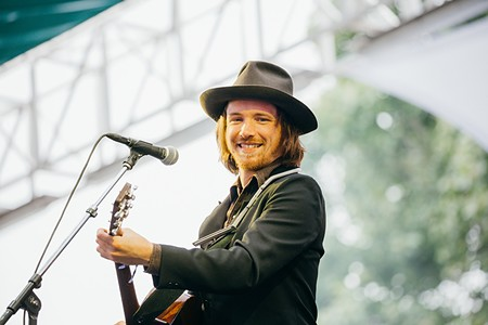 NORTH BAY'S FINEST Forestville native David Luning kicked off last year's BottleRock Napa Valley music festival. - PHOTO COURTESY BOTTLEROCK NAPA VALLEY