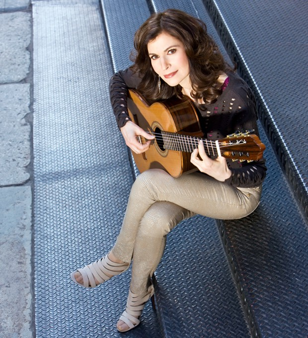 Classical guitarist Sharon Isbin's collaborative performance with the Santa Rosa Symphony airs on local radio this weekend. - J. HENRY FAIR