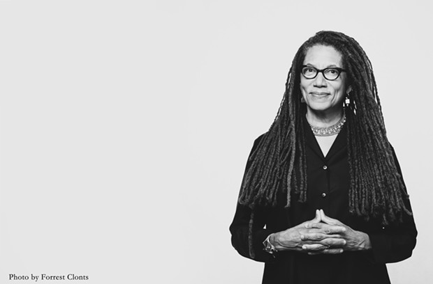 """Acclaimed poet Nikky Finney appears in a virtual conversation on """"the Witness We Bear"""" today, June 5, at 7pm as part of Bay Area Book Festival  #UNBOUND virtual program. - FORREST CLONTS"""