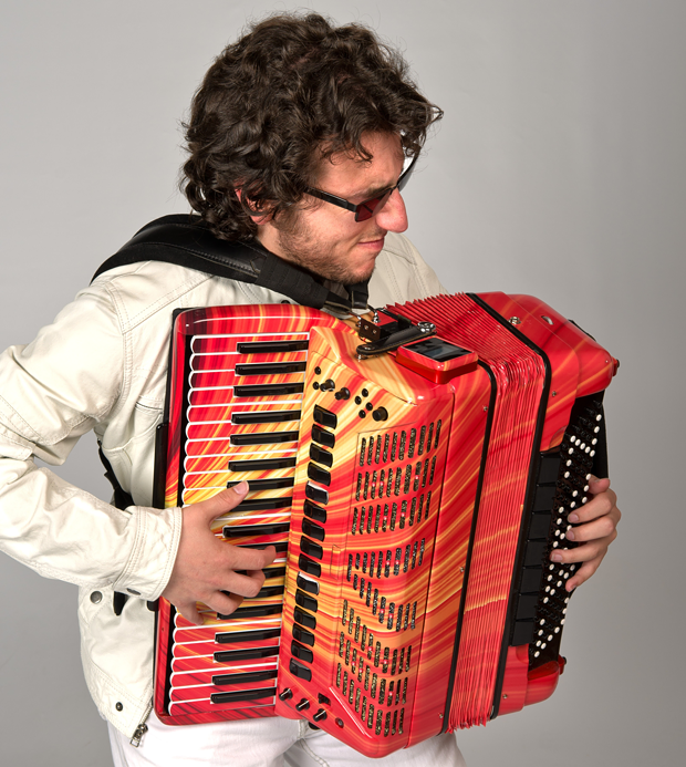 World-renowned musician Cory Pesaturo is one of several virtuoso performers appearing online as part of the Cotati Accordion Virtual Festival.
