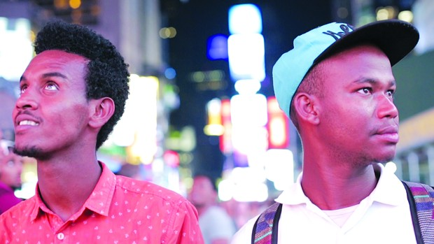 SEE THE JOURNEY Two young Ethiopian Jews, Demoz and Gezi, travel to America in 'The Passengers,' screening at the Sonoma County Virtual Jewish Film Festival.