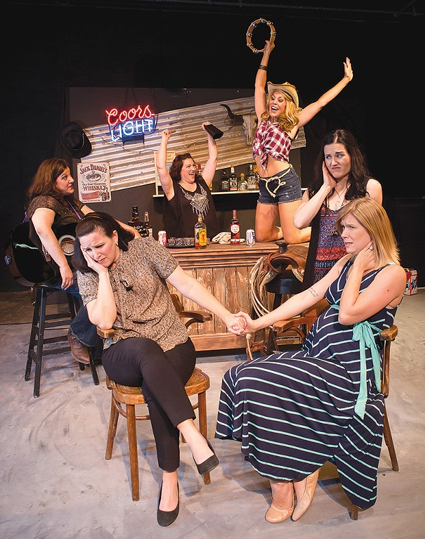 HONKY-TONKERS 'Cowgirls' springs to life thanks to a great cast. - KURT GONSALVES, KMG DESIGN