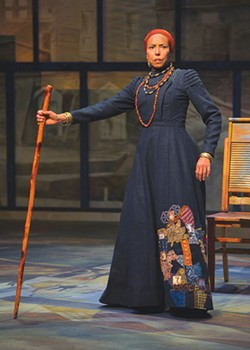 WISE WOMAN Margo Hall plays a sagacious 285-year-old woman in 'Gem of the Ocean.' - KEVIN BERNE