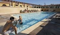 Fortunately, the swimming pool at Dry Creek Inn in Healdsburg was not impacted by the slurry. The creek itself, different story - DRY CREEK INN