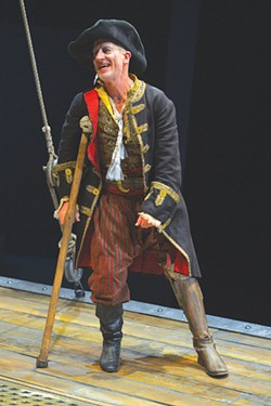 TREASURE TROVE Berkeley Rep stages a richly reimagined 'Treasure Island' to great effect. - KEVIN BERNE