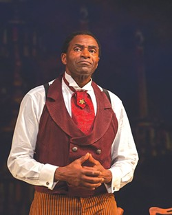 SHOWSTOPPER Carl Lumbly is outstanding as Ira Aldridge.
