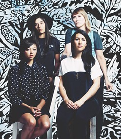 I SEE THE LIGHT La Luz headline an eclectic show at the Arlene Francis Center this weekend.
