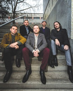 TO THE TOP Marin County's Monophonics are steeped in R&B traditions.