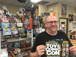 TOY JOY Mike Holbrook created Santa Rosa Toy Con when he couldn't get tickets to San Diego's big Comic-Con.