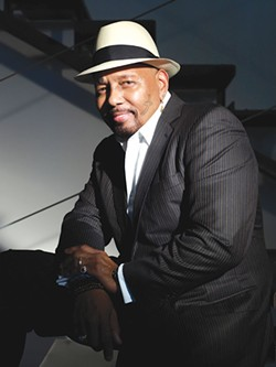 MULTIFACETED In addition to singing, Aaron Neville writes poetry. On his iPhone, no less.