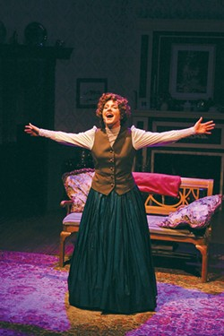 HEY JO Sarah Wintermeyer lends her fine voice as Jo March in the musical version of Louisa May Alcott's novel. - ERIC CHAZANKIN