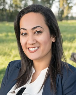 LOCALLY GROWN  'I am blessed to have grown up in such a diverse community where my religion is welcomed rather than mocked or criticized,' says American Canyon city councilmember and Muslim Mariam Aboudamous.