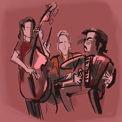 GOOD JOB 'Bohemian' readers named Oddjob Ensemble best folk band in the North Bay. - EMILY NEW