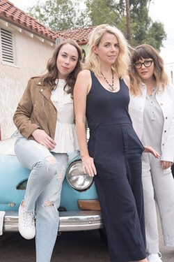 SEE THEM AROUND Sarah Jarosz, Aiofe O'Donovan and Sara Watkins share song credits on debut album.