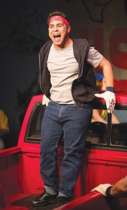 KEEP ON TRUCKIN' Alexander Gomez sings about how winning a truck will help him become a veterinarian. - KURT GONSALVES