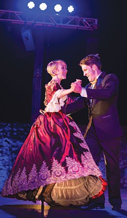 MOVE YOUR FEET Broadway Under the Stars' new show puts the spotlight on dancing. - RAY MABRY