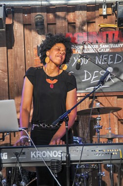 BIG SOUND Eki Shola opened last year's NPR Tiny Desk Contest 