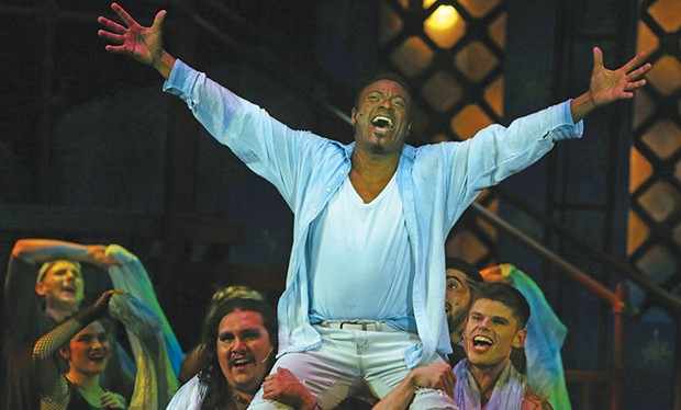 What's the Buzz? Phillip Percy Williams plays the 