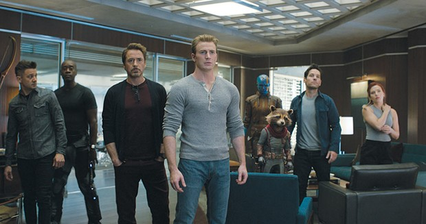 Grand Finale At just over three hours long, 'Avengers: Endgame' never 
