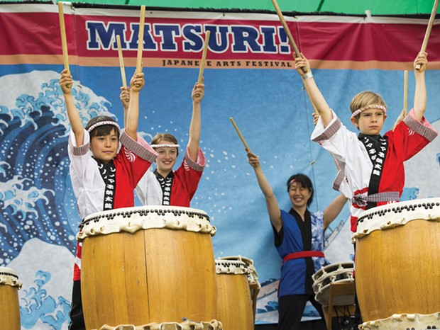 Move to the Beat Drumming, dancing, food and fun are all part of the Matsuri! Japanese Arts Festival in Santa Rosa.
