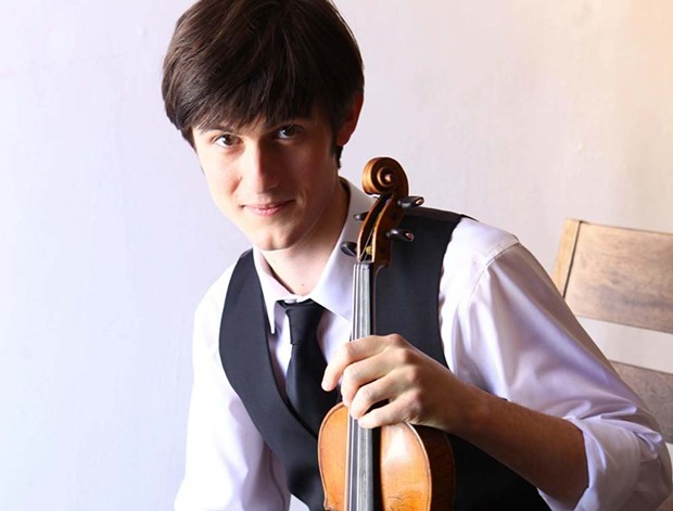 String Theory Sonoma violin prodigy Nigel Armstrong performs at Schubertiade this weekend 