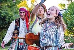 'All the world's a stage' Ron Smith, Stephanie Azcarate and Sammie Moore transport Shakespeare to the Summer of Love. - RAY MABRY