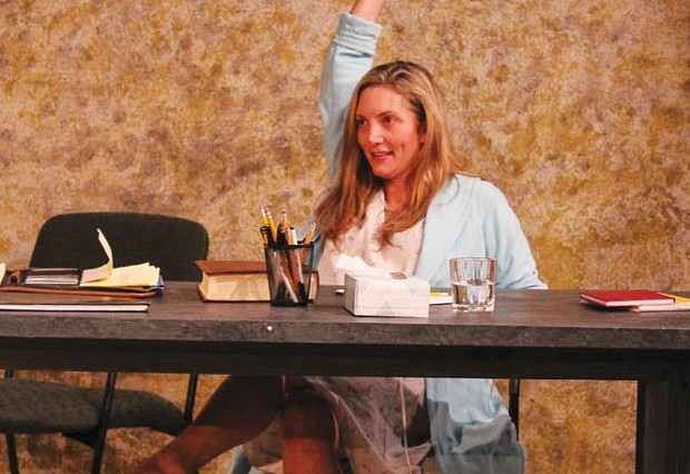 Testify Heather Gordon, as Claudia, shines when she finally takes the stand in 'Nuts.' - KATIE KELLEY
