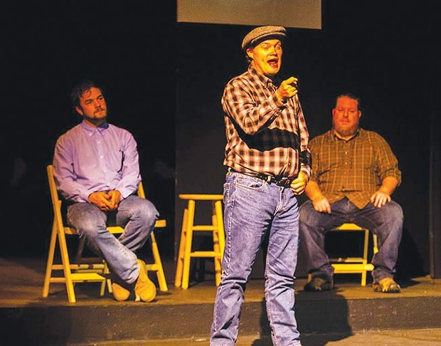 In Their Words Real interviews become staged memories in 'The Laramie Project' - RAY MABRY PHOTOGRAPHY