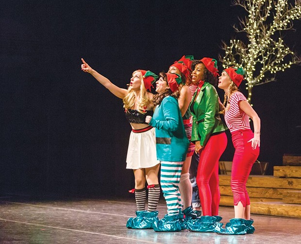 Broadway Holiday Transcendence Theatre Company presents a holiday show in Santa Rosa and Yountville. - RAY MABRY