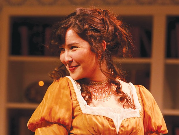 Victorian Holiday Spreckels performs the new Christmas continuation of 'Pride & Prejudice.' - JEFF THOMAS