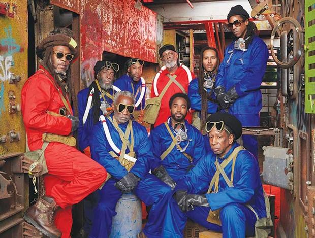 Musical Jewel Reggae-legends Steel Pulse co-headline this year's Emerald Cup in Santa Rosa. - PATRICK NIDDRIE