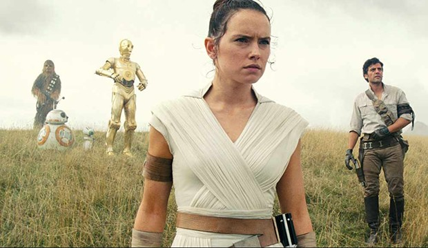 Rey (Daisy Ridley) leads the 'Star Wars' cast to their final conclusion in 'Rise of Skywalker.'