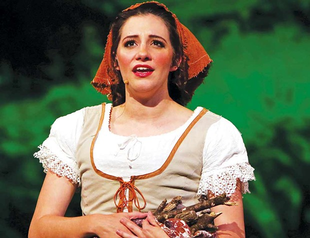 Princess Diaries Spreckels Theatre Company's Cinderella was a musical highlight of the year. - JEFF THOMAS