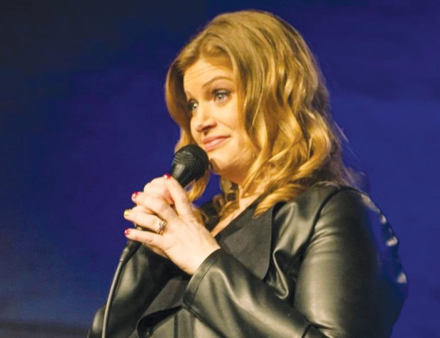 STRAIGHT TALK Comedian Gina Stahl-Haven honed her skills in front of her students. - COURTESY GINA STAHL-HAVEN