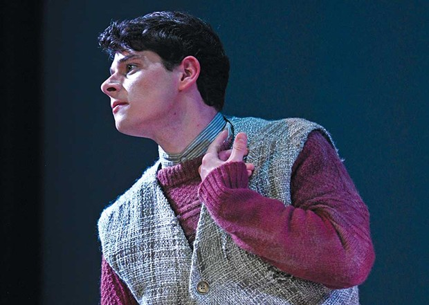 Standout Star Daniel Dow portrays the titular 'Cripple of Inishmaan.' - THOMAS CHOWN