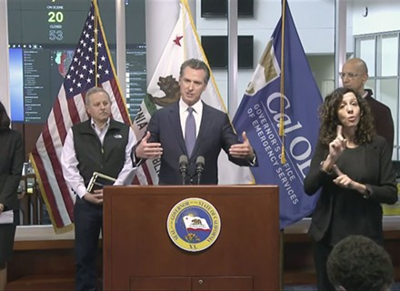 Newsom Orders Eviction Moratorium