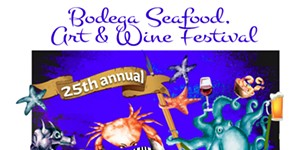 Aug. 24-25: See Art & Seafood in Bodega