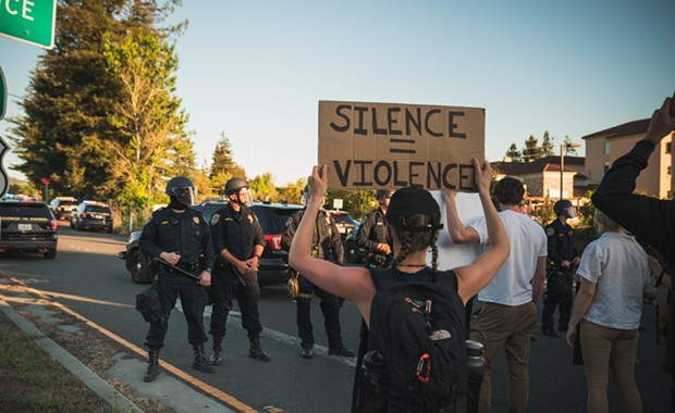 Report: Santa Rosa Police Violated Human Rights During Protests