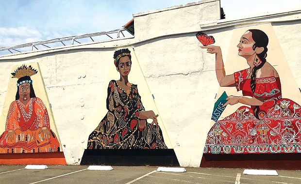 Mural Project Pops Up in Santa Rosa
