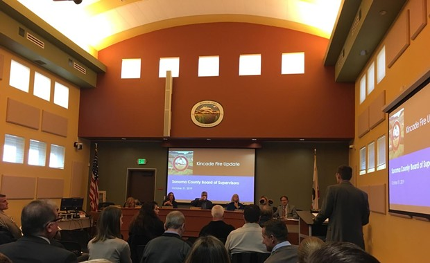 Sonoma County Declares Emergency Status