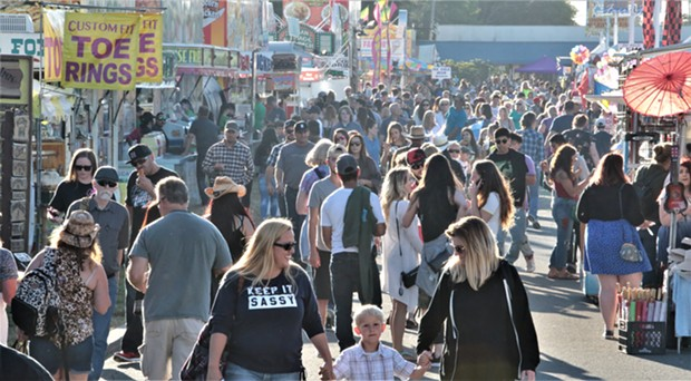 North Bay residents at the 2018 Sonoma-Marin Fair.