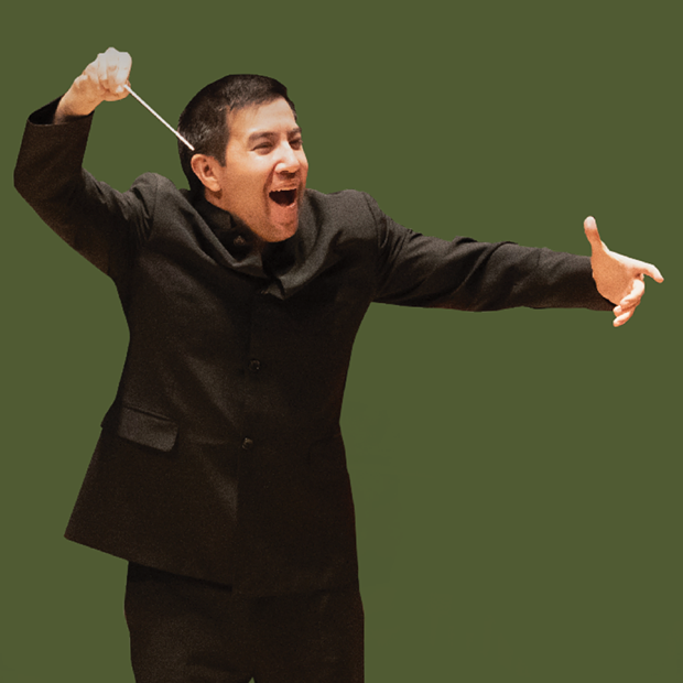 Francesco conducts virtual concerts at Weill Hall