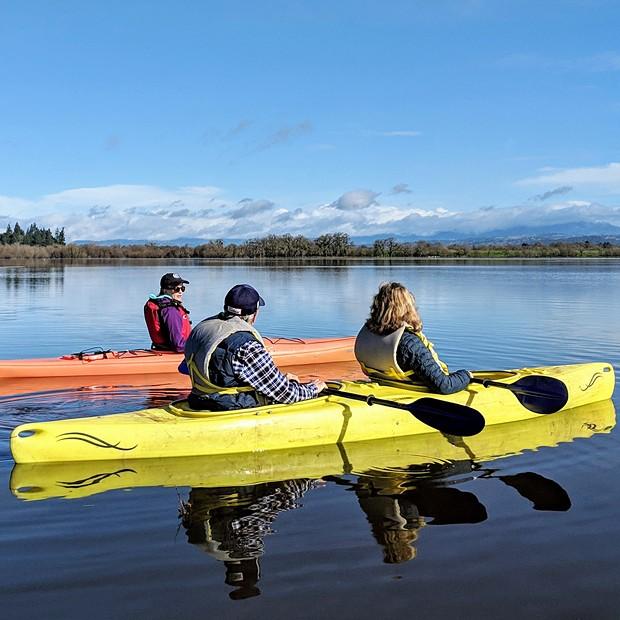 Kayaking the Laguna