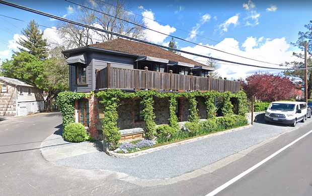 The French Laundry restaurant in Napa County.