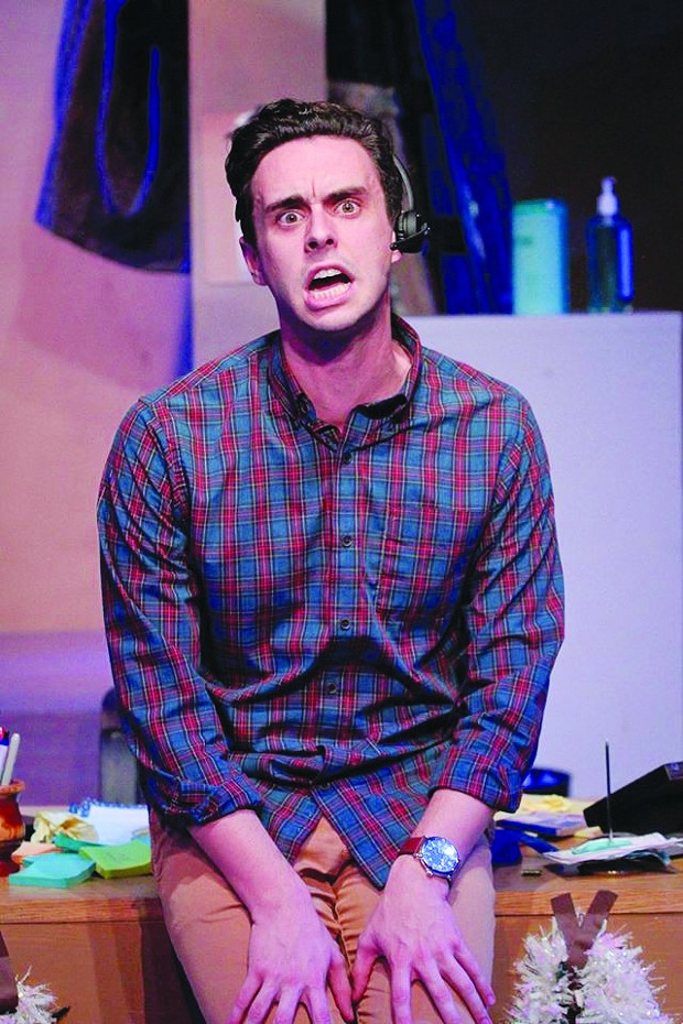 No Reservations Patrick Varner takes on 40-plus characters in 6th Street Playhouse's 'Fully Committed.'