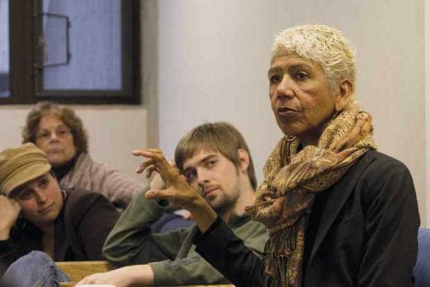 ON CAMPUS Human rights activist, poet, educator, Black Panther leader and former political prisoner Ericka Huggins will appear at Sonoma State University.