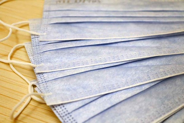 The Sonoma Valley Hospital will accept pleated face masks if new N95 masks are not available.