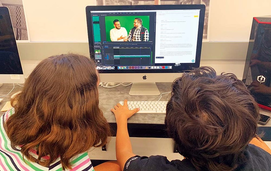 SCREEN TIME Students can take a filmmaking bootcamp from home with Alexander Valley Film Society, one of several online kids camps happening this summer. - PHOTO COURTESY ALEXANDER VALLEY FILM SOCIETY