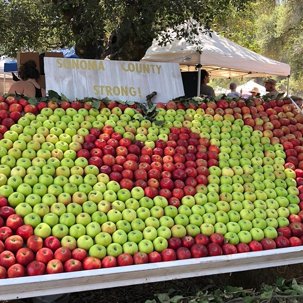 The Gravenstein Apple Fair is one of many North Bay events canceling their plans this fall due to Covid-19.