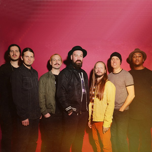 Denver-based funk band The Motet headlines the Online Petaluma Music Festival on Aug. 1. - PHOTO COURTESY 7S MANAGEMENT